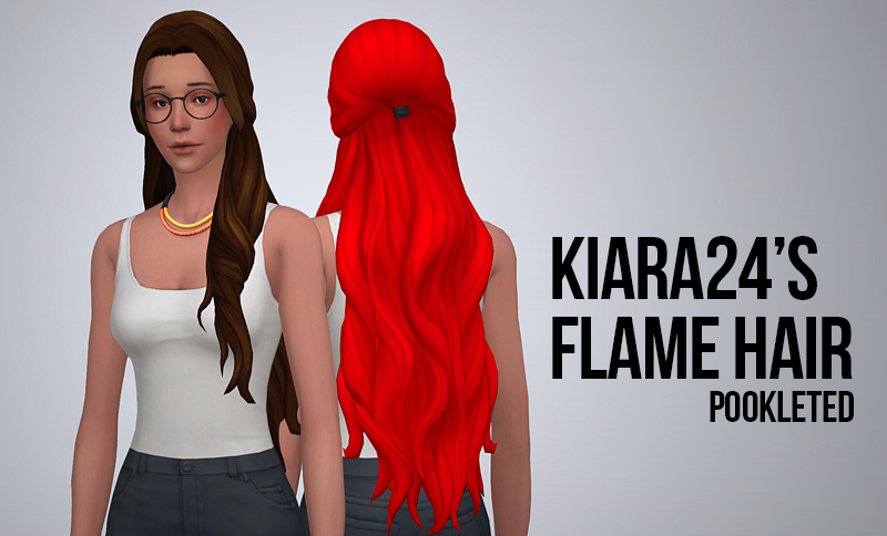 Flame Hair Pookleted by SimSerenity