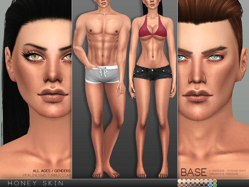 PS Honey Skin by Pralinesims