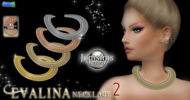 Evalina necklace 2 by JomSims
