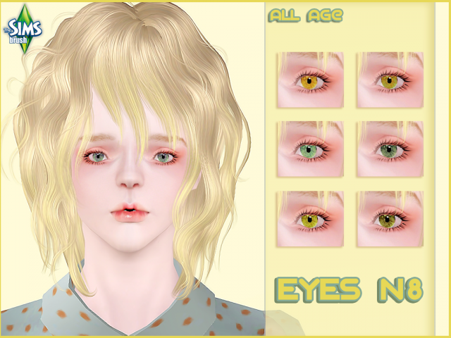 Eyes ball N8 by Simsbrush