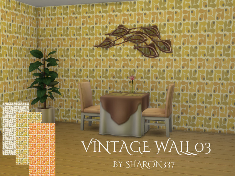 Vintage Walls and Floors 01 by sharon337