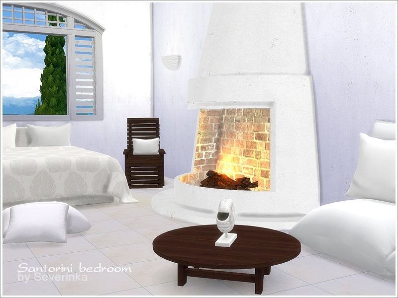 Santorini bedroom by Severinka