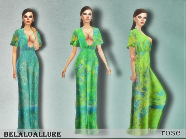 belaloallure_rose dress by belal1997