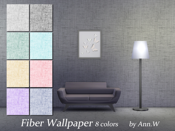 Fiber Wallpaper 8 colors by annwang923
