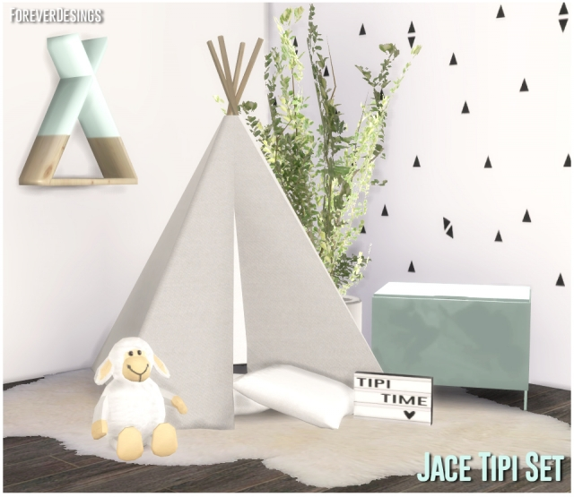 Jace Tipi Set by ForeverDesigns