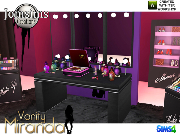 miranda vanity Beauty set by jomsims