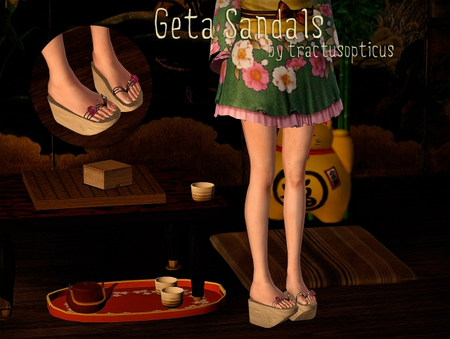 Geta Sandals by tractusopticus