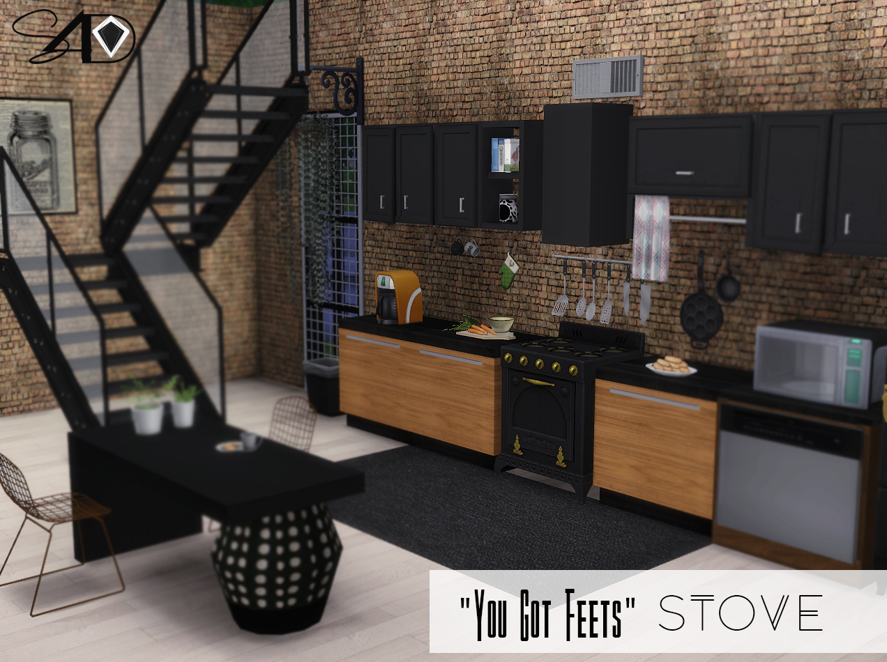 TS2 You Got Feets Stove Conversion by Daer0n