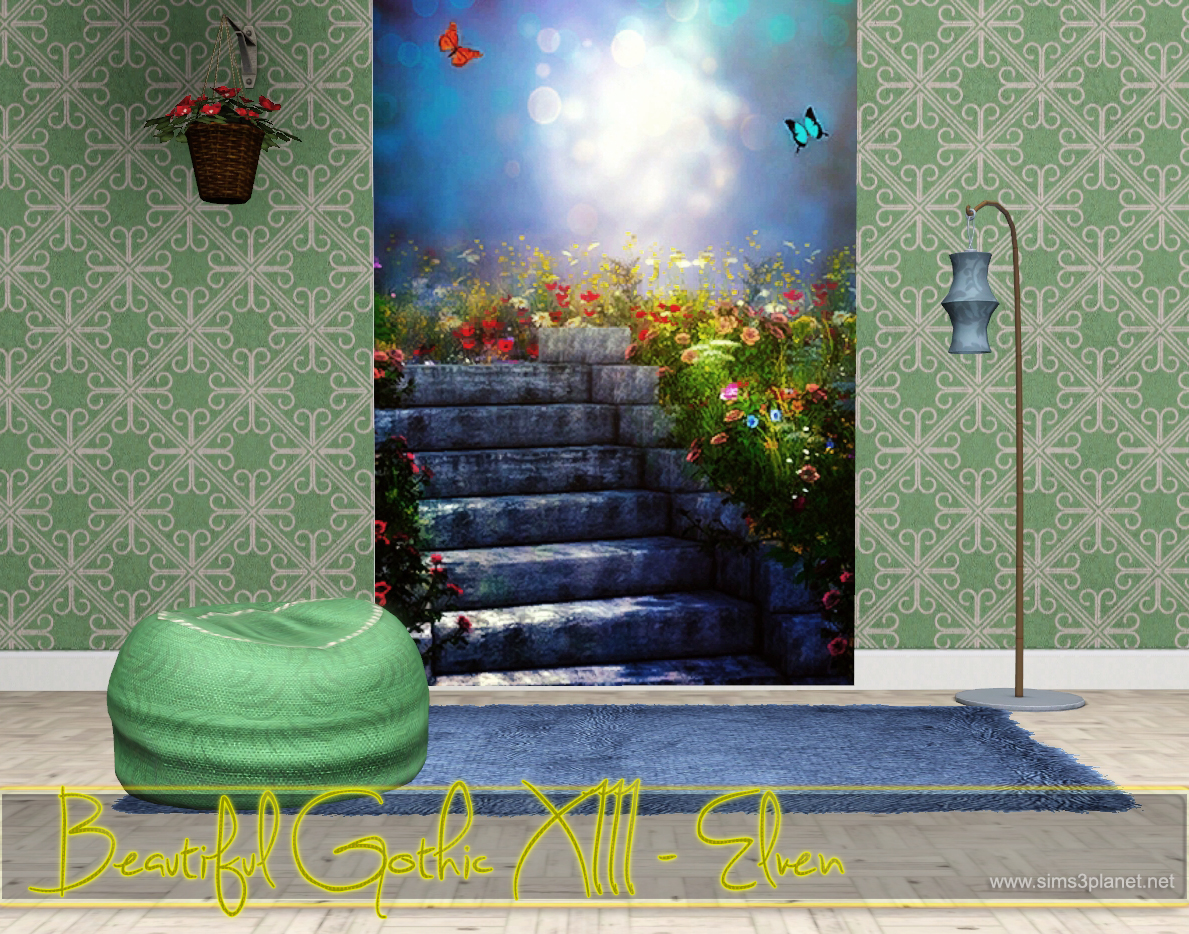 Beautiful Gothic XIII - Elven Backgrounds by lorelea