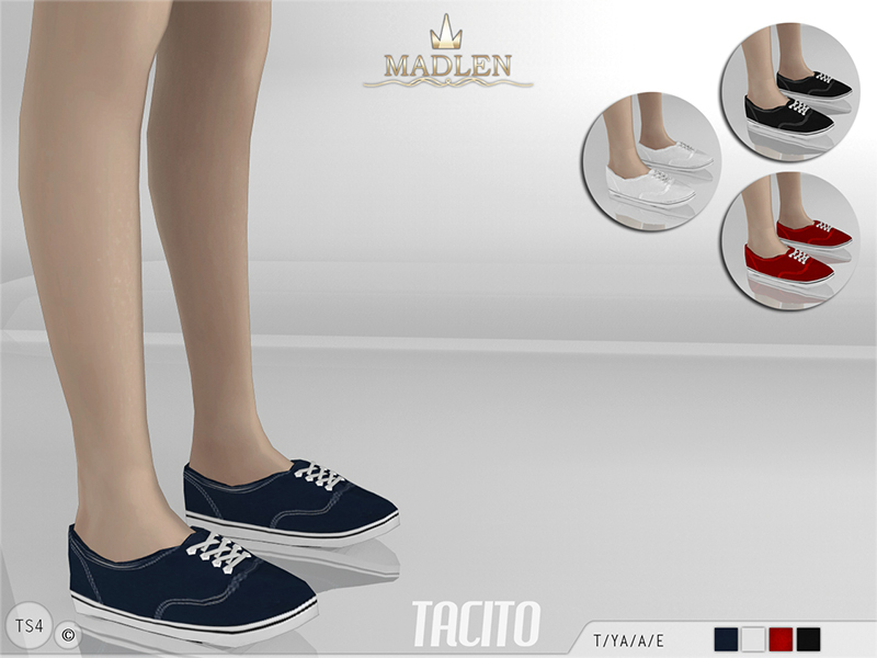 Tacito Shoes [RECOLOR] by Luxy