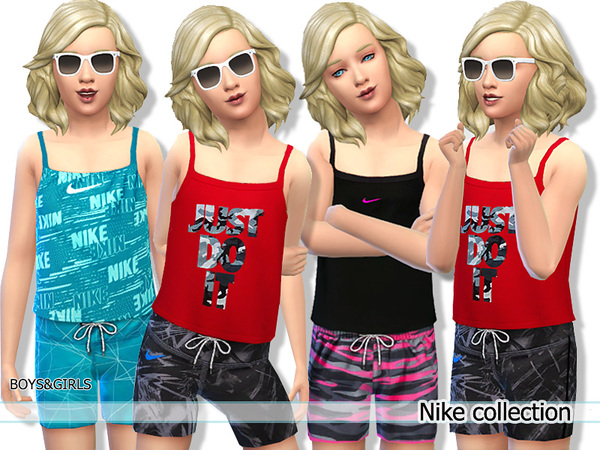 Nike Athletic Collection for Child by Pinkzombiecupcakes
