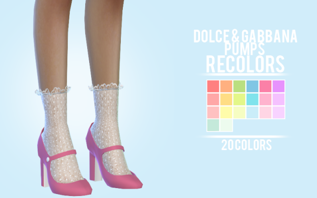 Dolce & Gabbana Pumps recolors by sens-felipa