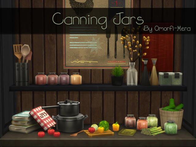 Resized Canning Jars by Omorfi-Mera