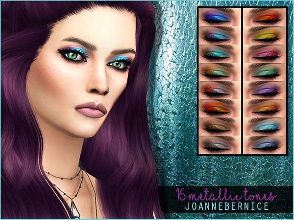 Metallic Tones Eyeshadow by joannebernice