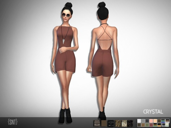 Crystal Jumpsuit - Get to Work needed by serenity-cc