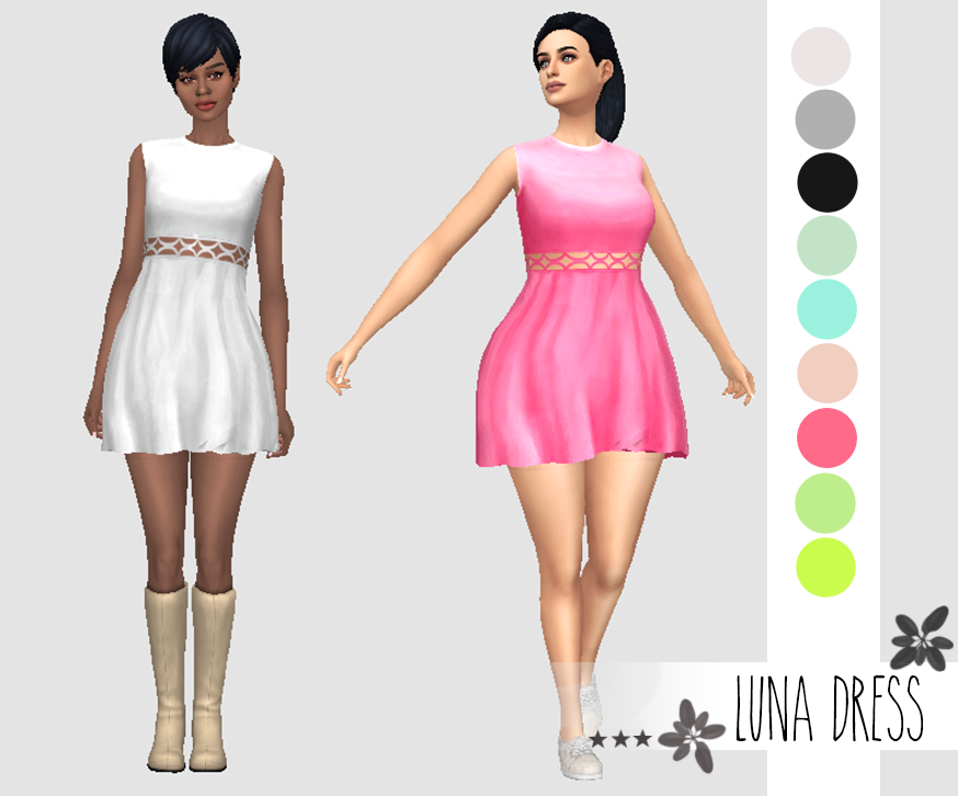 Luna Dress by CherrySlice