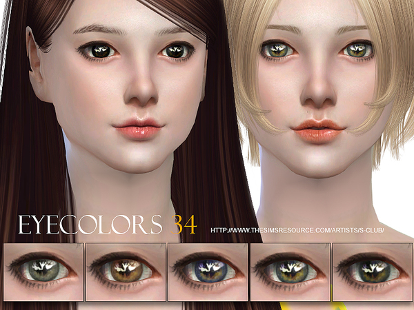 S-Club WM thesims4 eyecolor 34