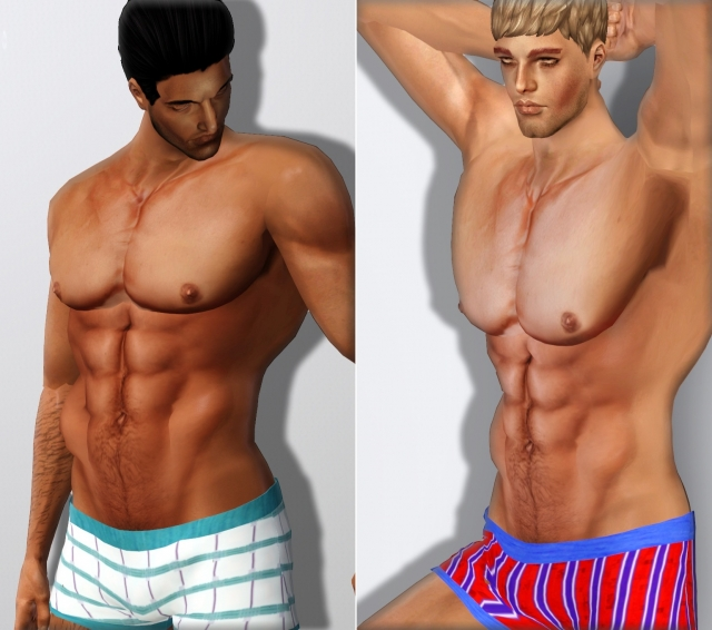 B.o.S - Muscular Top Mesh by boysoversims