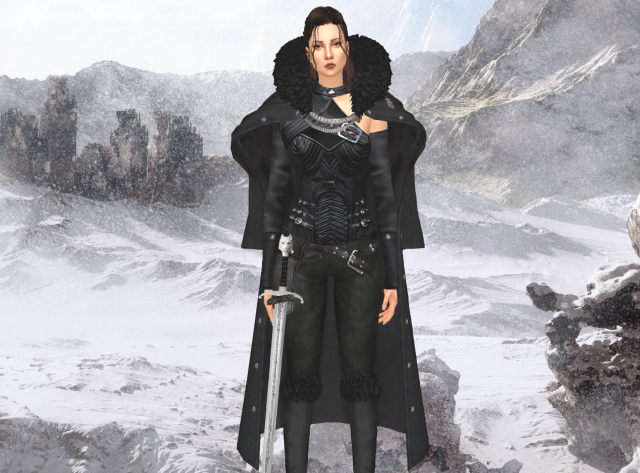 Accessory cape-conversion by Lumy-sims
