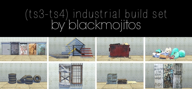 Industrial build set by Blackmojitos