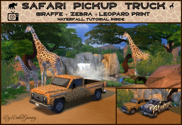 Safari Pickup Truck by Bakie
