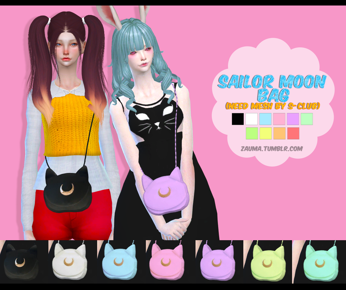 Sailor Moon Bag by Zauma