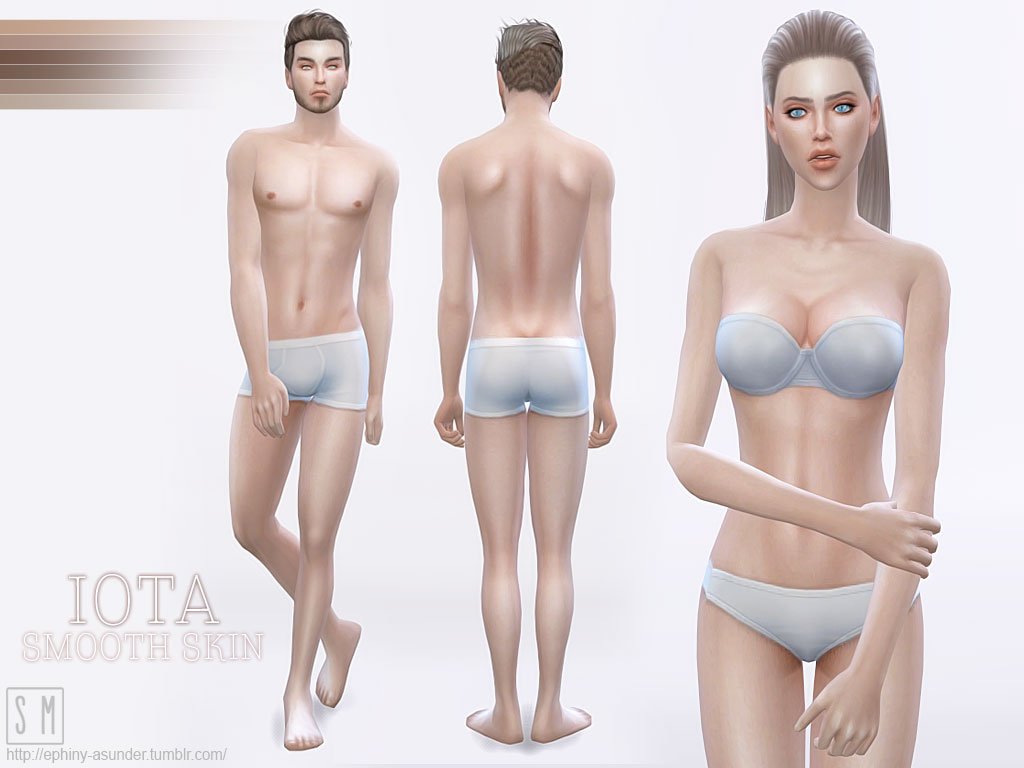 Iota Skin for Males and Females by MYOBI