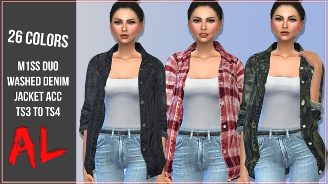 M1ss Duo Denim Jacket ACC (S3 to S4) by ArthurLumiereCC