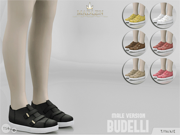 Madlen Budelli Shoes (Male) by MJ95