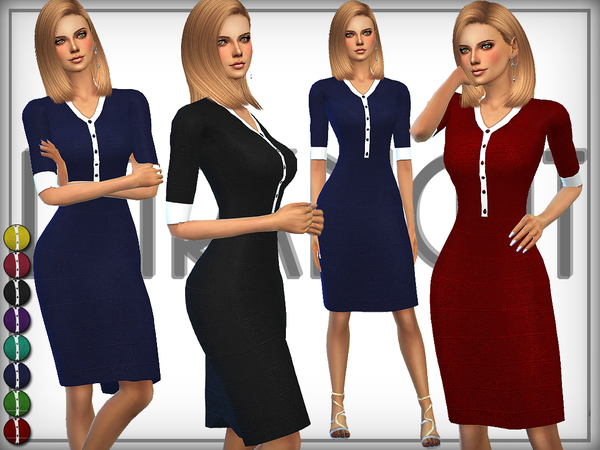 Knitted Bodycon Dress by DarkNighTt