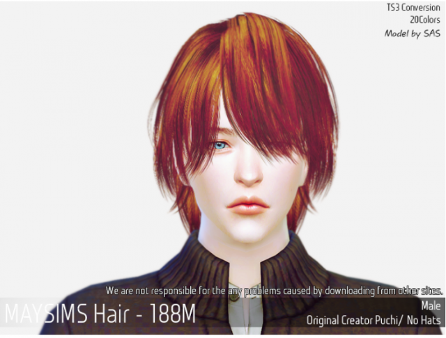 Hair188M by MaySims
