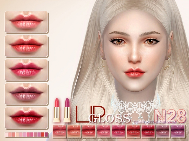 LL thesims4 Lipstick 28 by S-Club