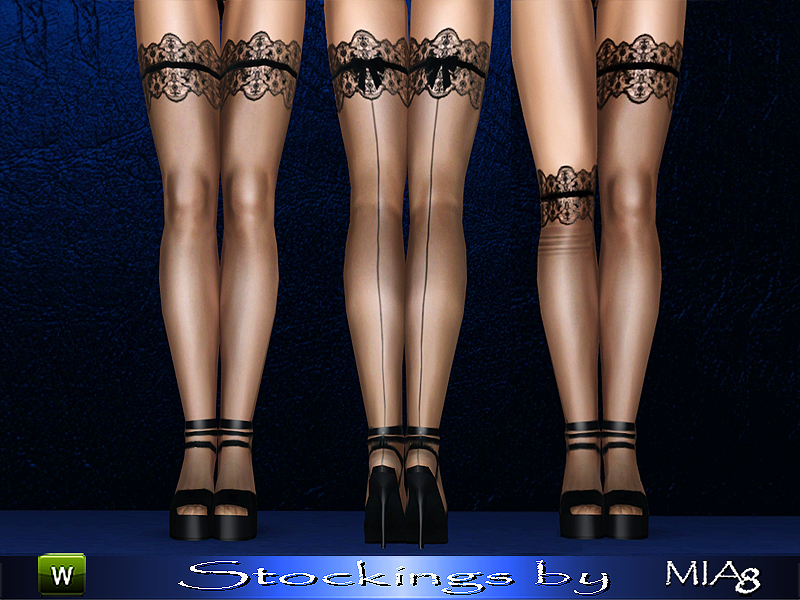 Women's stockings by mia8