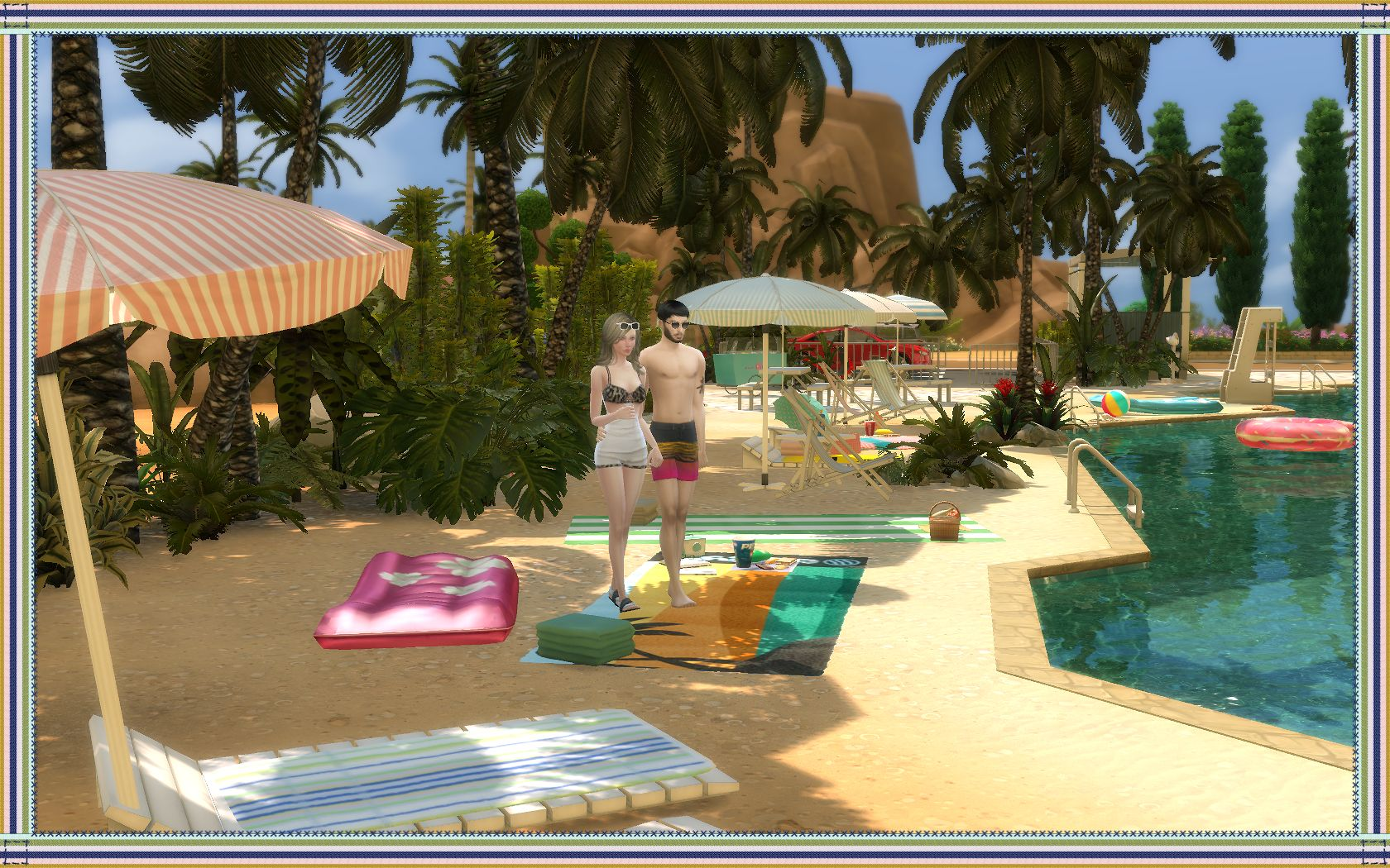 Oasis Springs Beach by Nagvalmi