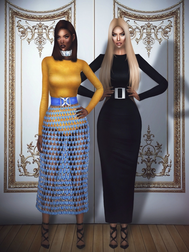 Balmain Spring 2016 Ready-To-Wear by fashionroyaltysims