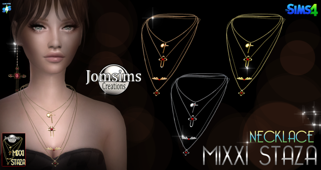 Mixxi staza necklace by JomSims
