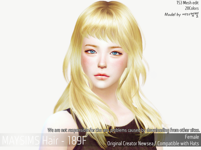 Hair189F by MaySims