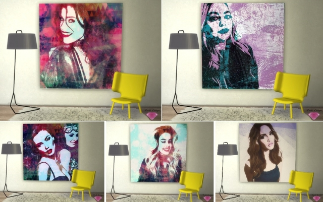 Serebro Girl Canvas by Karla Lavigne