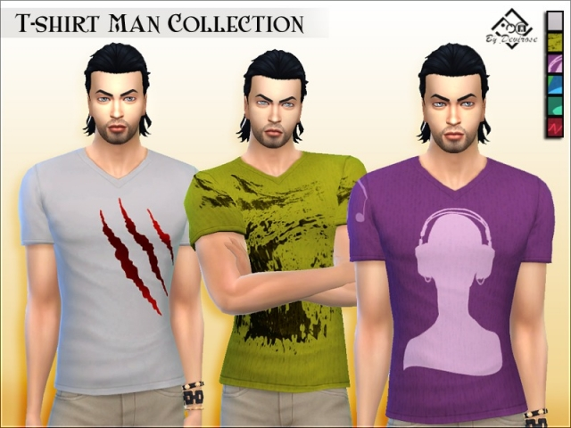 Tshirt Man Collection by Devirose