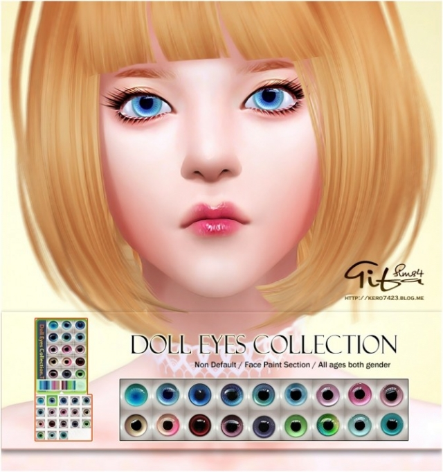 Doll eyes by Tifa