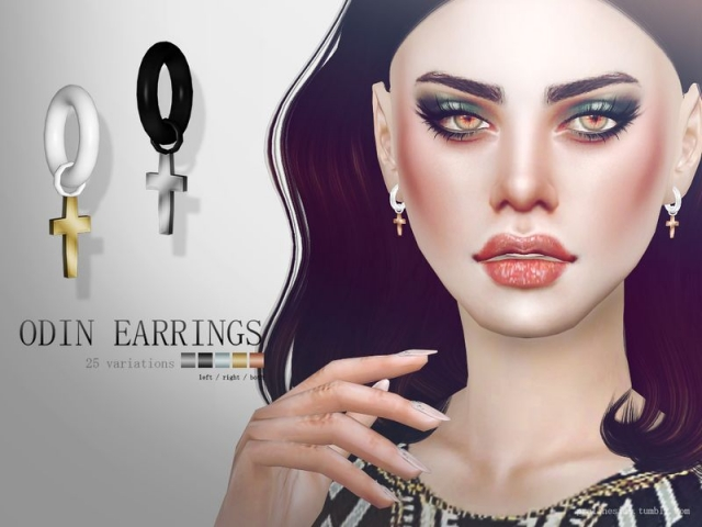 Odin Earrings by Pralinesims