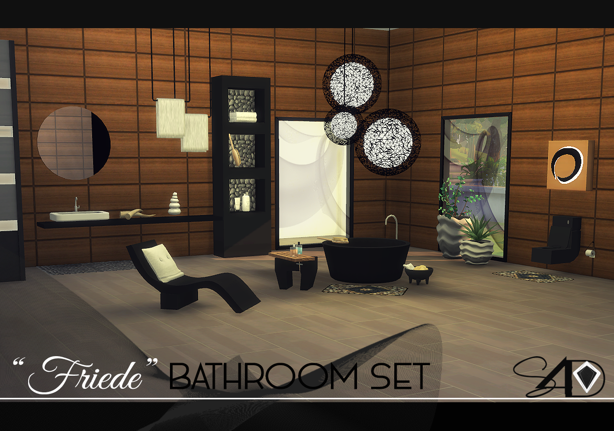 Fiede Bathroom Set by Daer0n