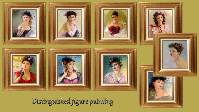 Painting Distinguished figure by Kyma
