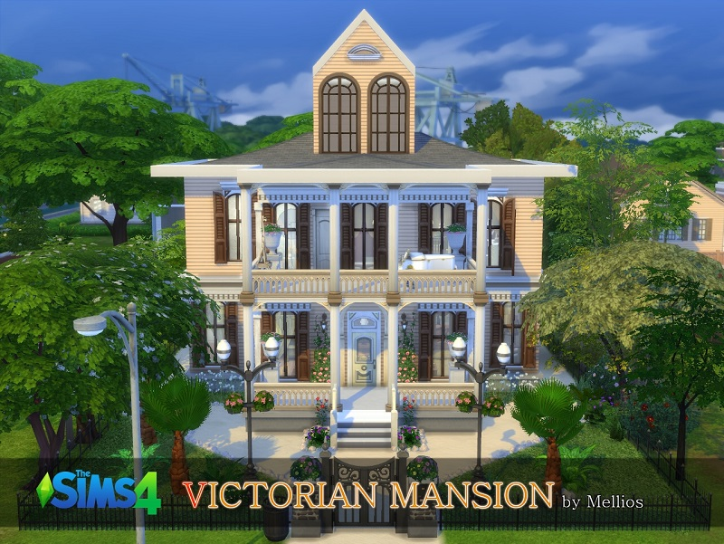 VICTORIAN MANSION by Mellios