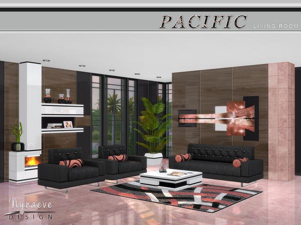 Pacific Heights Living Room by NynaeveDesign