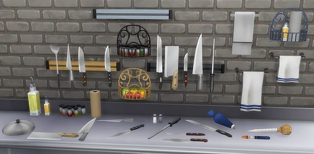 Knives & Clutter by BrazenLotus
