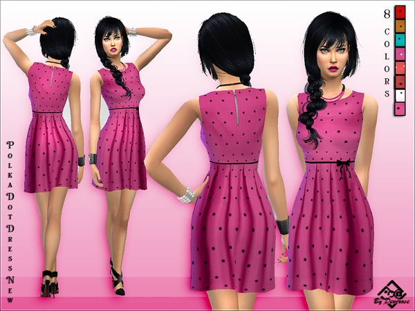 PolkaDot Dress New by Devirose