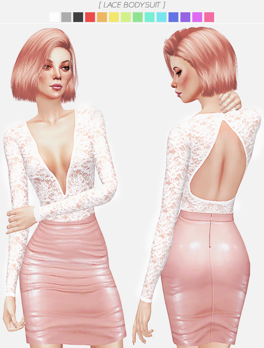 LACE BODYSUIT by ItsLeeloo