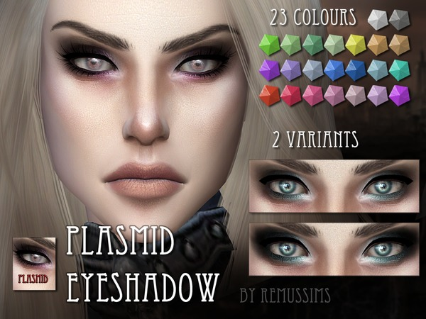 Plasmid Eyeshadow by RemusSirion
