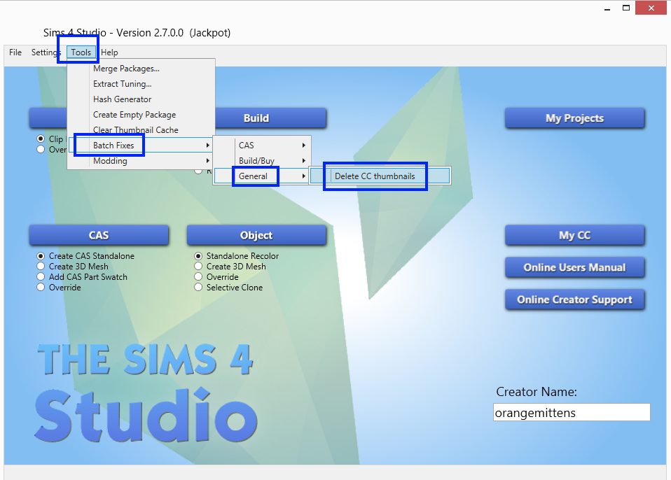 Sims 4 Studio от The Sims 4 Group